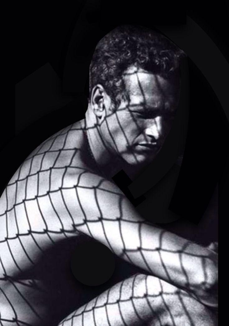Paul Newman, photo by Dennis Hopper, 1963.