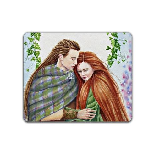 The Lovers Placemat by lavendergeorge at zippi.co.uk