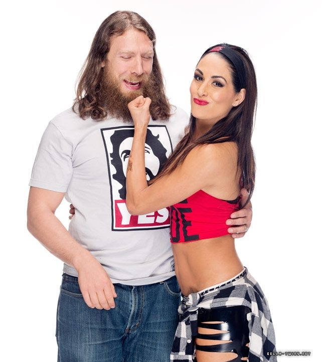 Brie Bella and Daniel Bryan Funniest and Most Awkward WWE Photoshoot