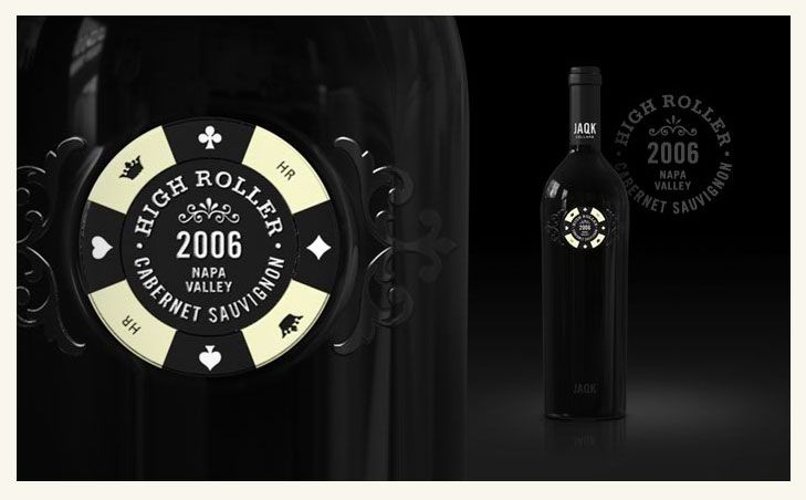 Graphic-ExchanGE - a selection of graphic projectsCasino Destroyer, High Rollers, Design Inspiration, Wine Packaging, Jaqk Cellars, Packaging Design, Inspiration Packaging, Graphics Projects, Wine Bottle