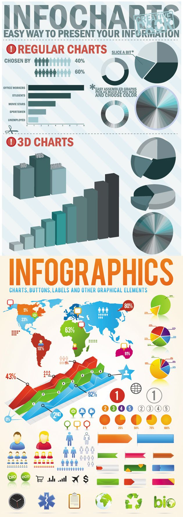 INFO GRAPHIC DESIGN ELEMENTS VECTOR http://www.falconhive.com/20-free-infographic-templates/