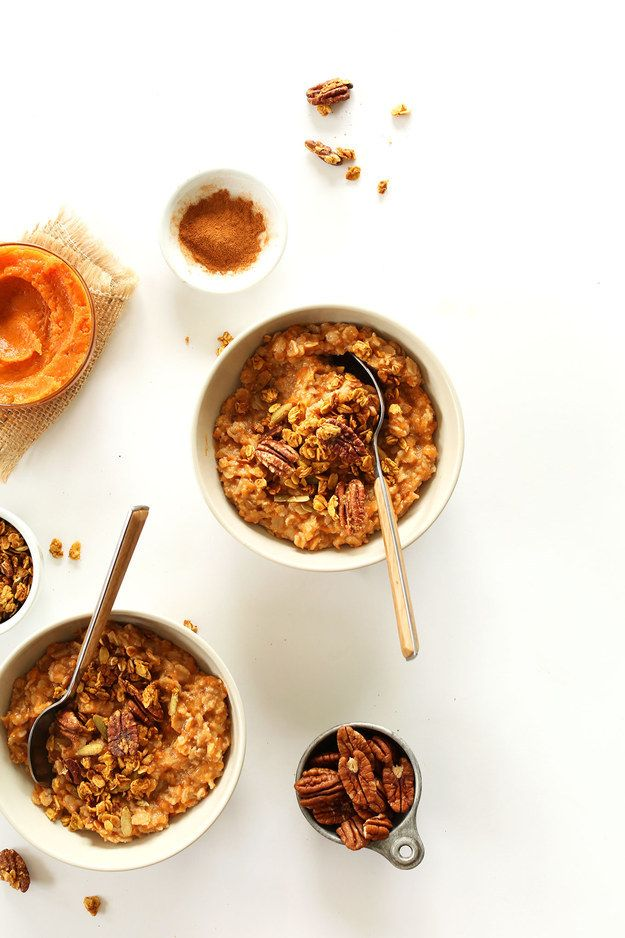 Sweet Potato Pie Oats | 33 Of The Most Delicious Things You Can Do To Sweet Potatoes