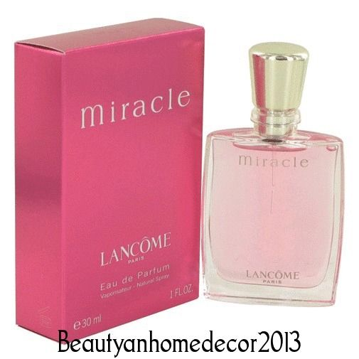 MIRACLE by Lancome 1 oz / 30 ml EDP Spray Perfume for Women New in Box #Lancome