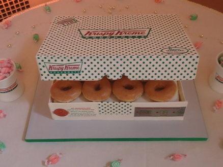 Krispy Kreme Doughnut Donut Cake ALL EDIBLE!!!