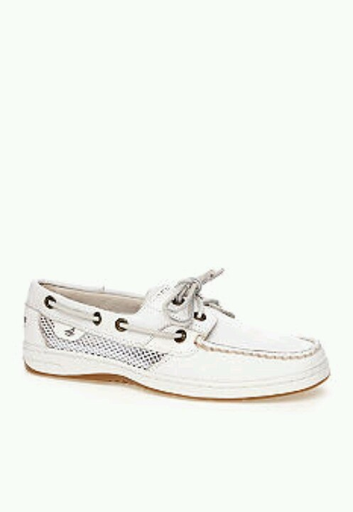 White sperrys this years summer must have!!