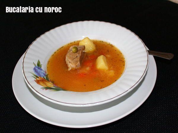 Supa de oase de porc - Bucataria cu noroc