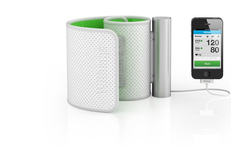 Easy and precise self-measurement of your blood pressure with your iPhone, iPad or iPod touch.