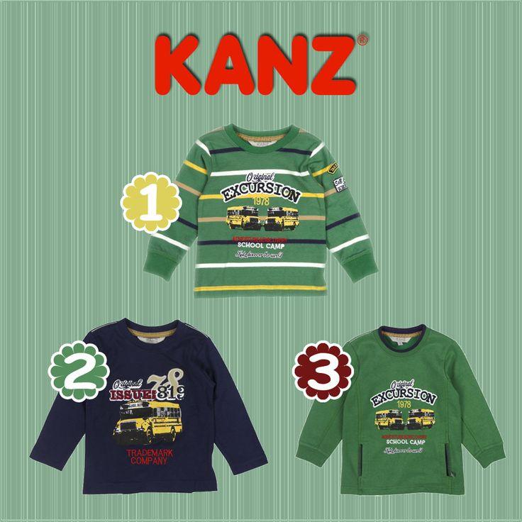 Kanz'ın Sonbahar - Kış koleksiyonunda yer alan School Bus temasındaki ürünler ile çocuğunuzun okul saatleri daha rahat ve keyifli geçecek! Siz oğlunuz için hangi modeli seçtiniz?