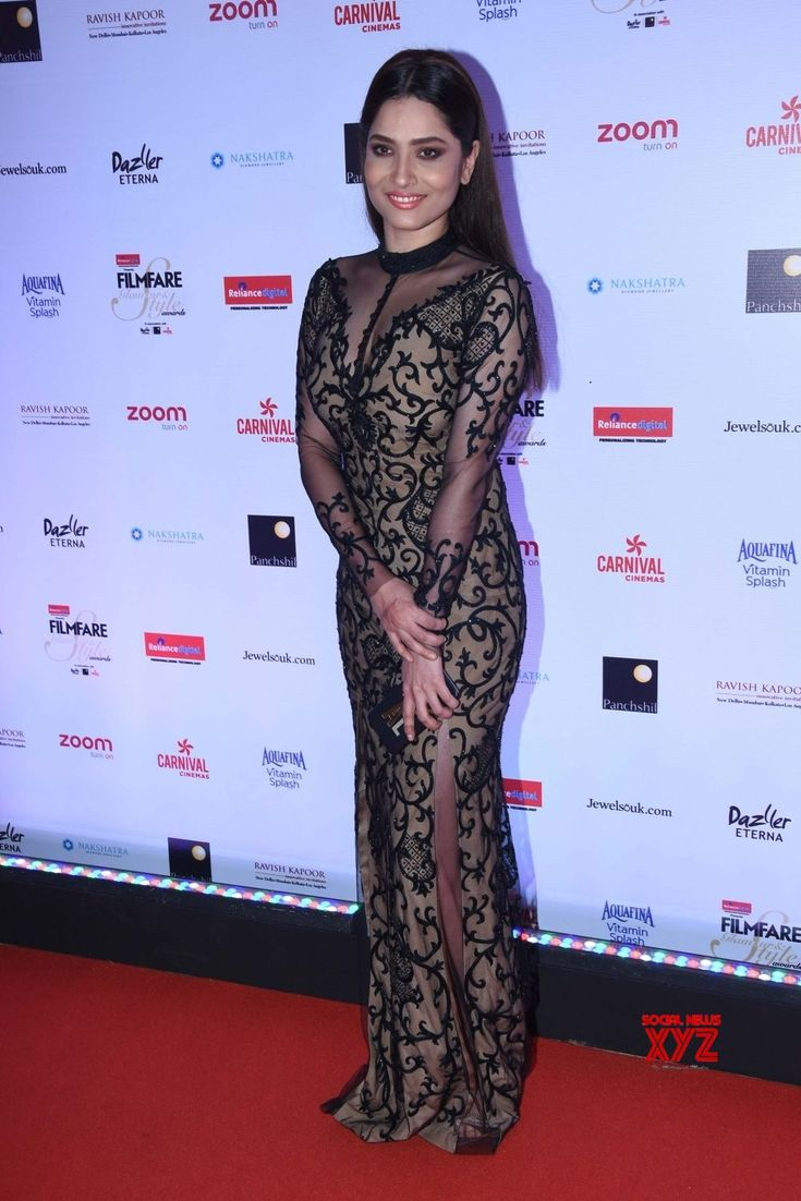 "Mumbai: ""Filmfare Glamour & Style Awards 2017""  Ankita Lokhande - Social News XYZ"