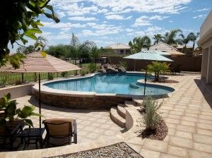 Pool Design And Contstruction By Cameo Pools. Deck: Stonelock Sandstone By  Www.artisticpavers