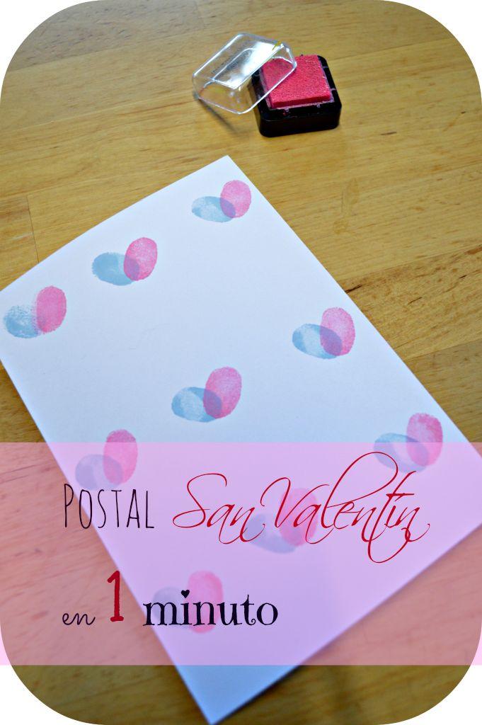 Elenarte: Postal de San Valentín en un minuto.