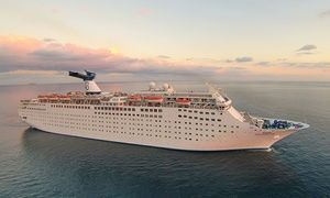Groupon - Two-Night Bahamas Cruise for One or Two from Bahamas Paradise Cruise Line (Up to 76% Off) in Riviera Beach. Groupon deal price: $99