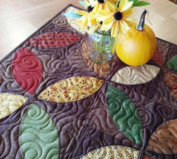 Fall Table Runner, Autumn Table Topper, Harvest Table Runner, Coffee Table  Topper,