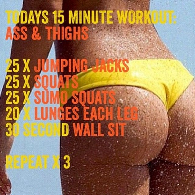 Glutes & Thigh Workout