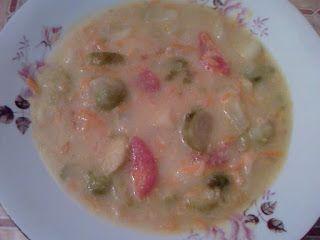 Camilla w kuchni: Zupa z brukselki po Roterdamsku