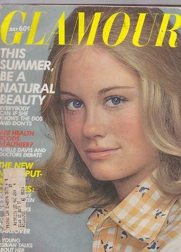 July 1971 Glamour Fashion Magazine $17 Cybil Sheperd ...