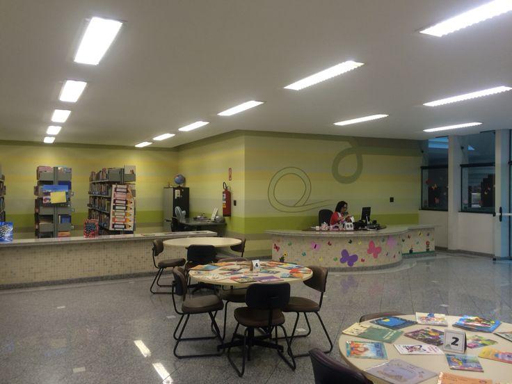 Biblioteca infantil do Liceu de Campinas