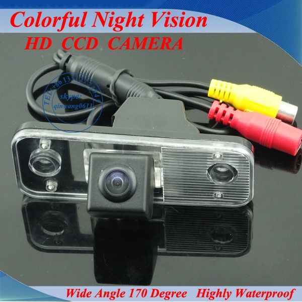 High Quality HCCD rearview camera for Hyundai new sant fe car parking camera with 170 Degree Lens Angle Night Vision waterproof