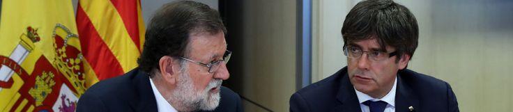 Puigdemont ataca y desafía a Rajoy en vísperas de la gran manifestación contra el terrorismo