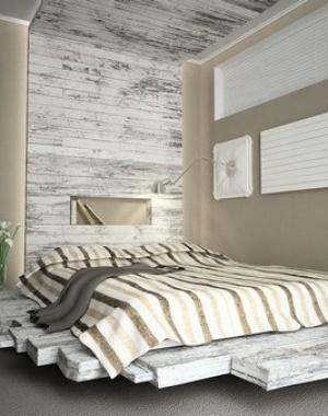 nice lighting plus floating bed see more very nice design pallet