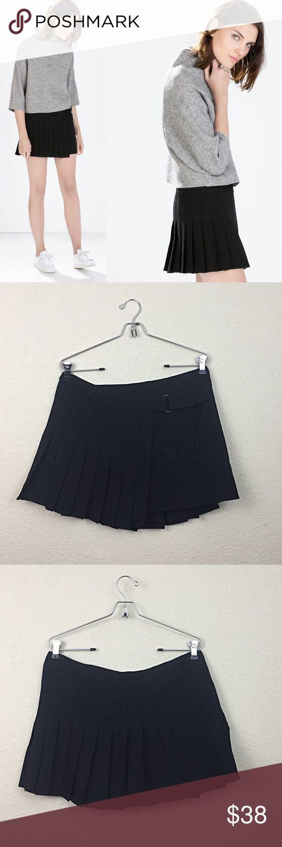 Zara skirt Zara pleated skirt new with tags size medium $99 Zara Skirts
