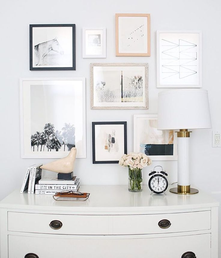"The Everygirl on Instagram: ""Oh the woes of trying to put together a gallery wall... we teamed up w/ @minted to bring you tips on how best to go about arranging one and we are offering two winners $400 to Minted to create their own gallery wall! Enter to win at theeverygirl.com!"""