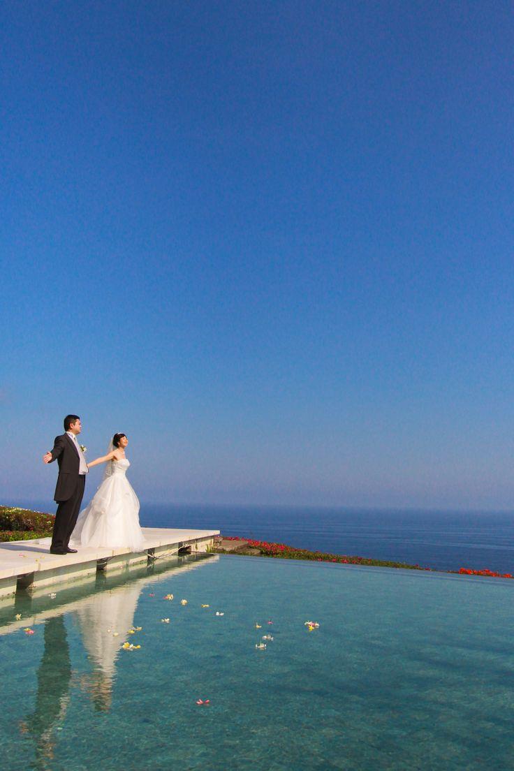 15時挙式 挙式後撮影 #wedding #bali