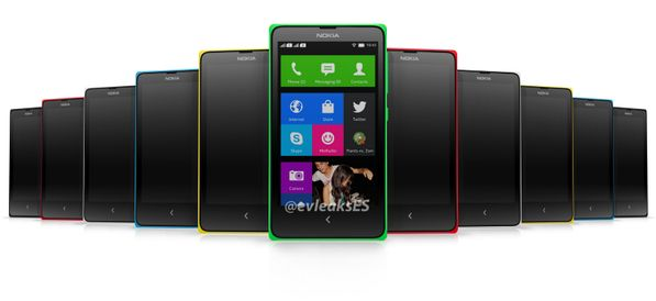 Nokia Normandy got a final look! UI inspired by Windows Live Tiles. #MobileNews #NokiaPhones2014