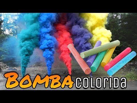 BOMBA DE FUMAÇA COLORIDA !!! - YouTube