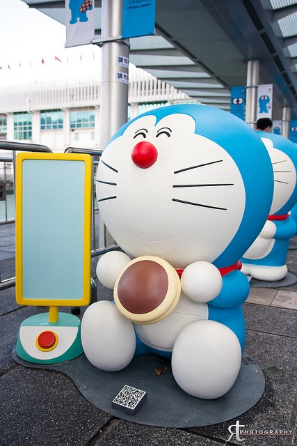 100 years before the birth of Doraemon at Habor City, Hong Kong