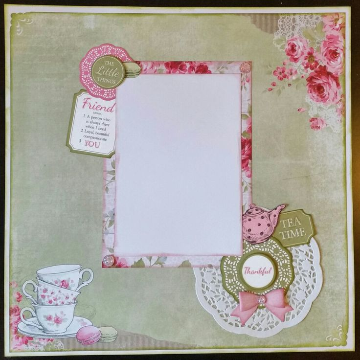 HT page 5 High Tea Collection by Kaisercraft