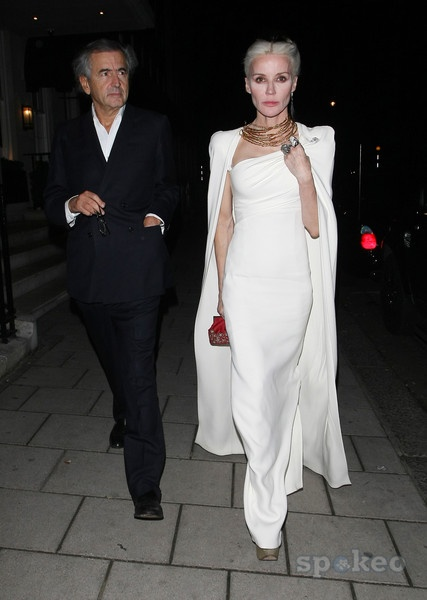 I do not know who I have a bigger crush on, Daphne Guinness or Mr Levy