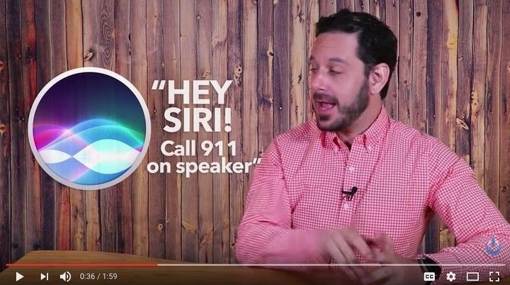 """If it wasn't for @TechTalkAmerica I would not love my #Mac as much as I do. But this by far has to be the best info provided!! Please share. It could potentially save a life.  If you or a loved one are in a situation where you are close to your phone but are unable to reach it and you say """"Hey Siri! Call 911 (or the emergency number that corresponds to where you live) on speaker"""" your iPhone will immediately say """"Calling Emergency Services in 5 seconds."""" The """"on speaker"""" part is critical…"""