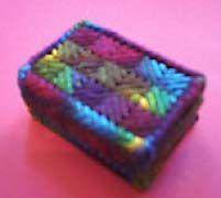 Plastic Canvas Box Pattern
