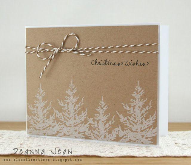 Best 25+ Handmade christmas cards ideas on Pinterest | Christmas ...