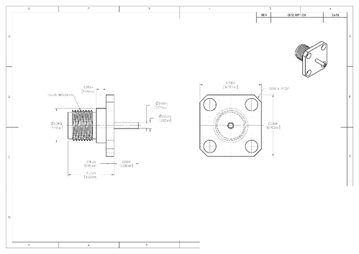 This is a Mechanical Drafting Project by CADD Outsourcing