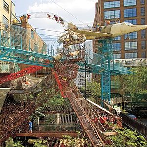 The City Museum in St. Louis is made with kids in mind but adults will love it just as much!