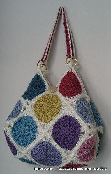 +172 Değişik Örgü Çanta Modelleri , Örgü çanta modelleri tutkunları için…
