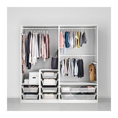 PAX Garderobekast - 200x60x201 cm, zachtsluitende scharnier - IKEA