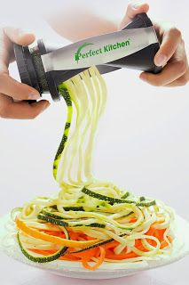 #1 Best Seller ~ Spiral Veggie Pasta Maker With e-Cookbook ... #healthy #gift