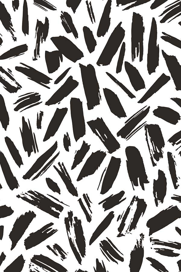 Black Drift by elizabethatlas.  Driftwood black and white strokes on fabric, wal... | Abstract HD Wallpapers 1