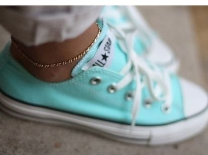 Tiffany Blue Converse | 37 Ways To Treat Yourself With Tiffany Blue