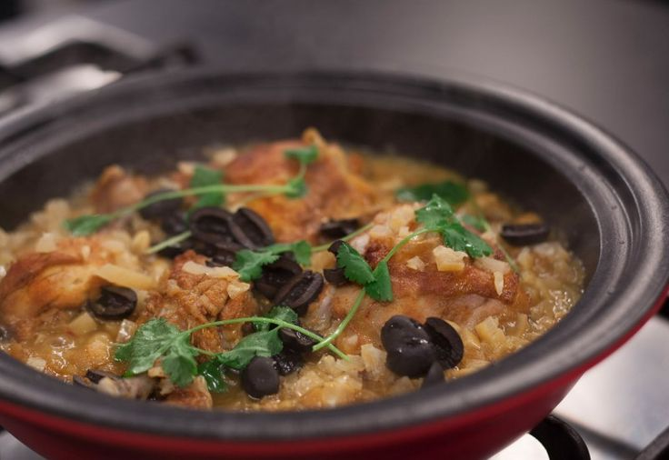 Chicken Mqualli – Tagine of Chicken with Lemons and Olives