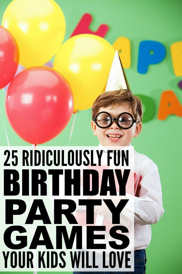 Whether you're organizing a birthday party for girls or for boys, for toddlers or for school-aded kids, this collection of ridiculously fun (and cheap!) birthday party games for kids has lots of indoor and outdoor games to keep your guests happy and enter