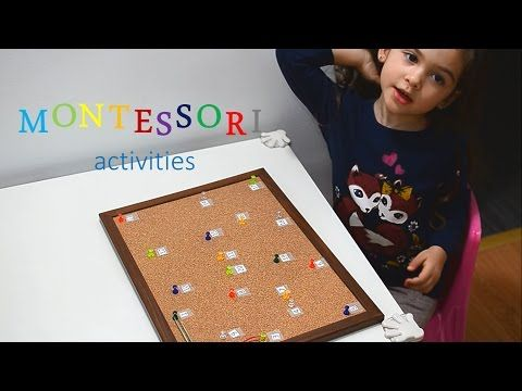 Learn Numbers and Colors - Montessori activities - kids play education - teaching methods fun