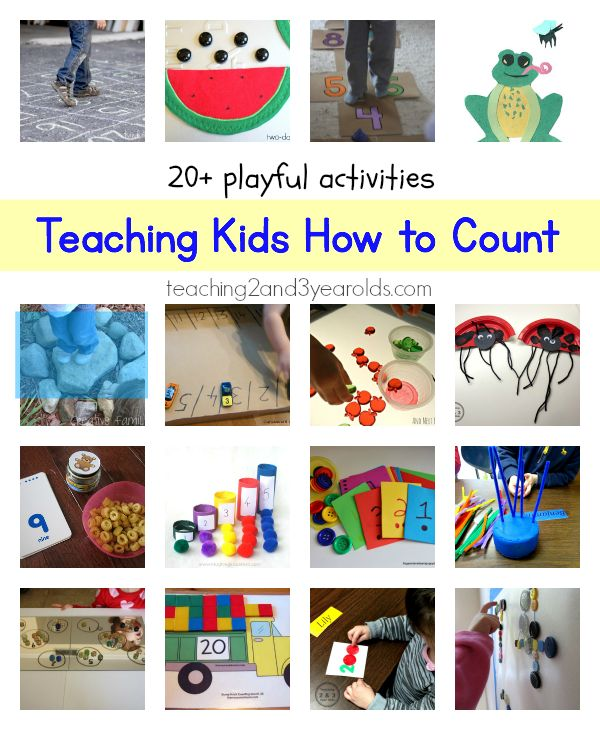 Teaching kids how to count - Teaching 2 and 3 Year Olds