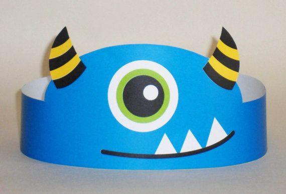 Monster Paper Crown
