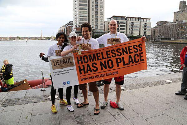 Depaul Raft Race 2014 winners | Team Wilson from Publicis Dublin