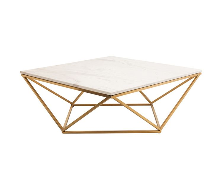 "Nuevo Jasmine Coffee Table from Schreiter's Love it, but it' s really low 14.5"" high"