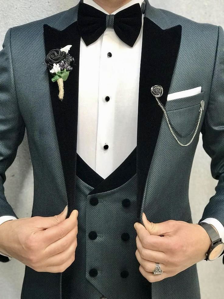 Pin On Men S Wedding Tux Tuxedo Tuxedo Colors